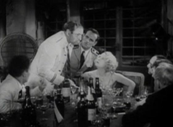 Dorothy Mackaill and the men of Safe in Hell