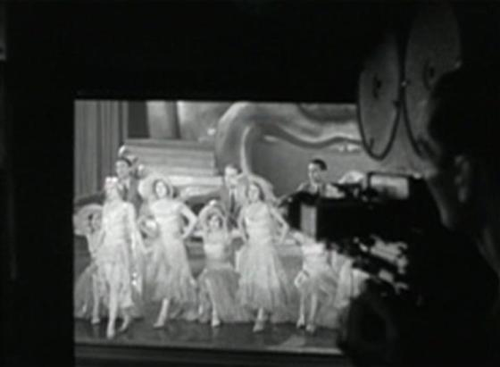 Filming a number from Rainbow Girl in Show Girl in Hollywood