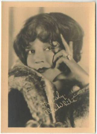 Alice White 1920s era 5x7 Fan Photo