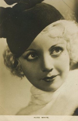Alice White 1930s Film Weekly Postcard