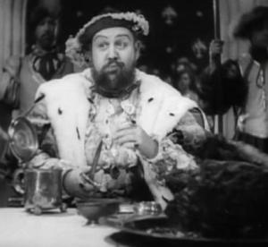 Charles Laughton in The Private Life of Henry VIII