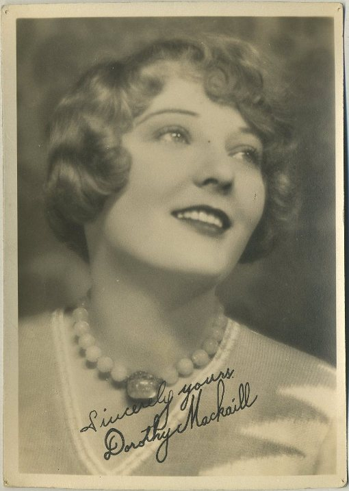 Dorothy Mackaill 1930s era Fan Photo