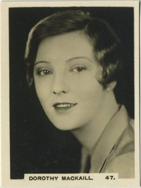 Dorothy Mackaill 1932 RJ Hill Tobacco Card