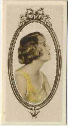 Dorothy Mackaill 1934 Godfrey Phillips Tobacco Card