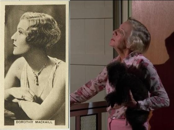 Dorothy Mackaill Then and Now