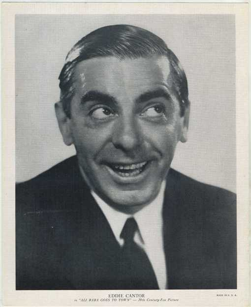 Eddie Cantor R95 Premium Photo