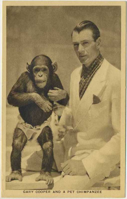 Gary Cooper 1932 Boys Cinema Postcard