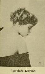 Josephine Stevens from inside Moving Picture World, April 21, 1917 issue