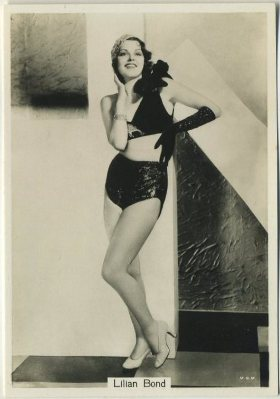Lillian Bond 1930s Godfrey Phillips Beauties Series 7 Tobacco Card