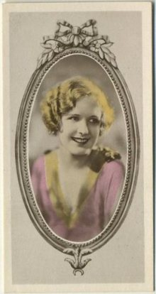Marilyn Miller 1934 Godfrey Phillips Tobacco Card
