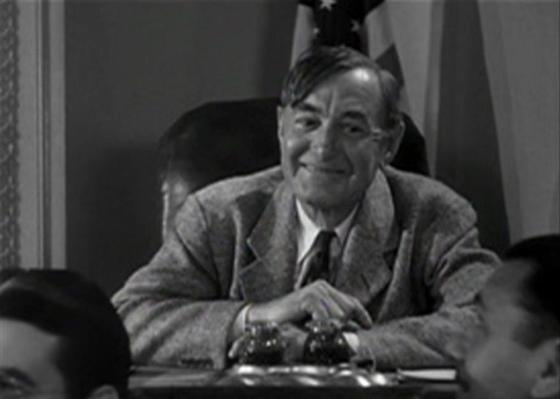 Harry Carey in Mr. Smith Goes to Washington