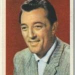 Robert Mitchum 1958 Atlantic Oil Trading Card