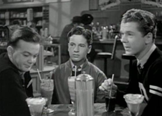 Leo Gorcey, Gene Reynolds and Jackie Cooper