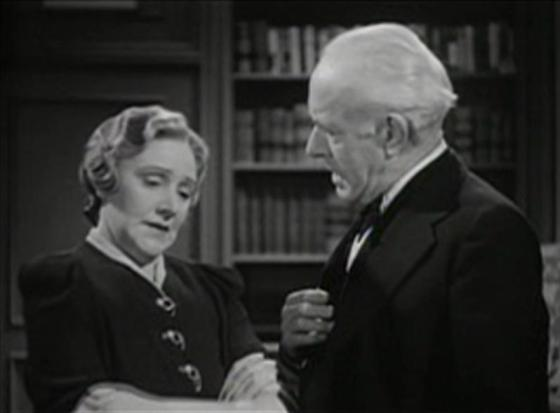 Fay Holden and Lewis Stone