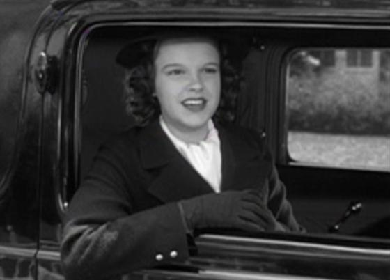 Judy Garland as Betsy Booth