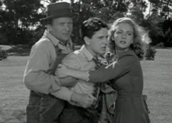 El Brendel, Gene Reynolds and Bonita Granville