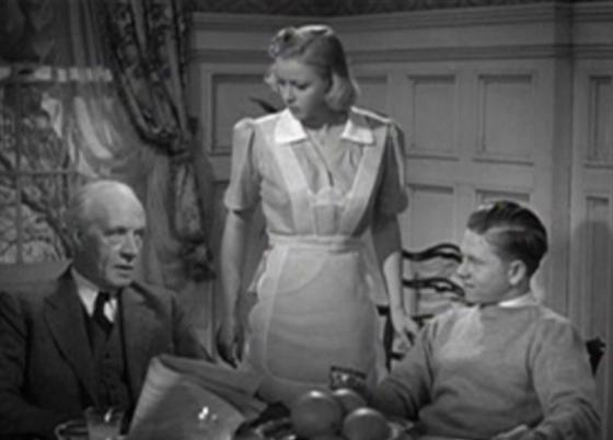 Lewis Stone Cecilia Parker and Mickey Rooney