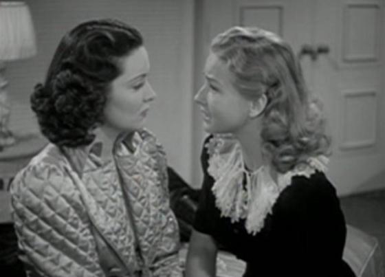 Gail Patrick with Bonita Granville