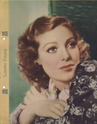 Loretta Young 1935 Dixie Premium Photo