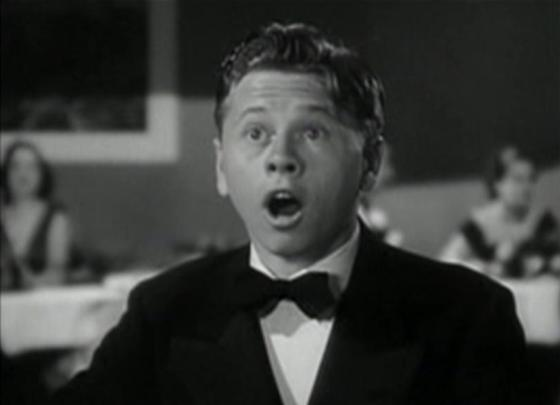 Mickey Rooney in The Hardys Ride High