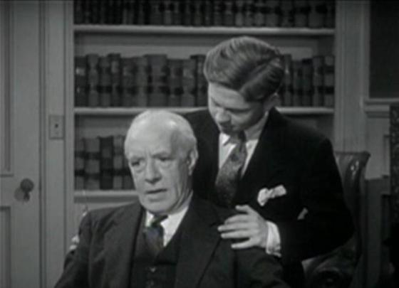 Lewis Stone and Mickey Rooney