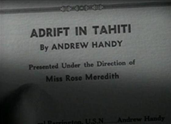 Adrift in Tahiti