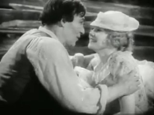 Walter Huston and Una Merkel