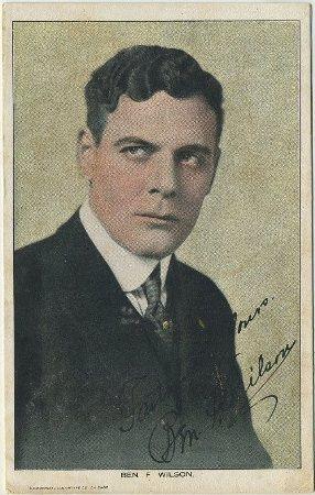 Ben F Wilson postcard