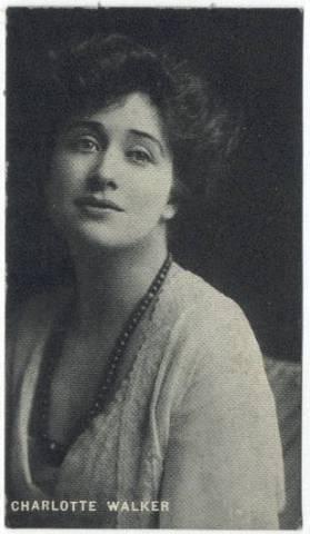 Charlotte Walker 1910s Trading Card