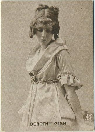 Dorothy Gish circa 1916 photo card
