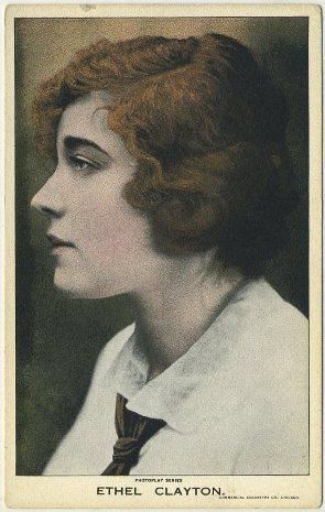 Ethel Clayton 1910s Postcard