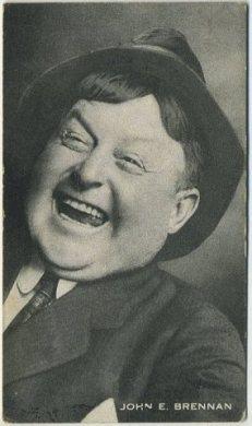 John E Brennan 1917 Trading Card