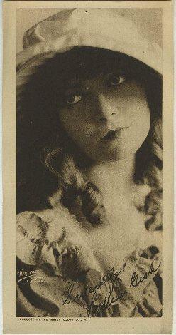 Lillian Gish 1916 Water Color Company Paper Premium Photo
