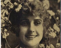 Image from Pearl White circa 1913 postcard