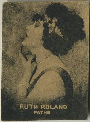 Ruth Roland early 1920s Clay and Bock Cuban Tobacco Card