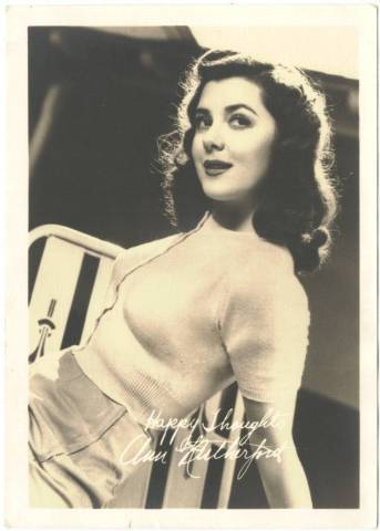Ann Rutherford 1930s 5x7 Fan Photo