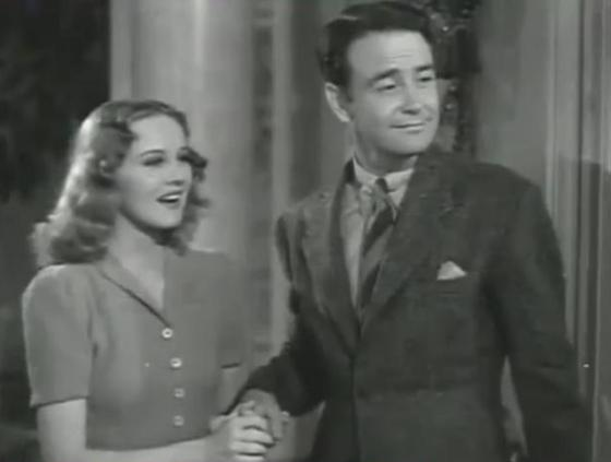 Helen Gilbert and Lew Ayres