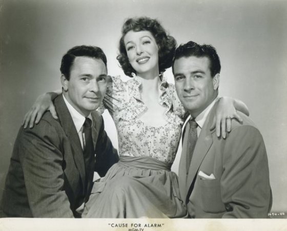 Loretta Young in Cause for Alarm