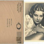 Una Merkel early 1930s 5x7 Fan Photo