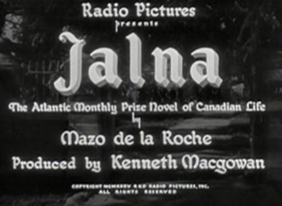 RKOs Jalna 1935