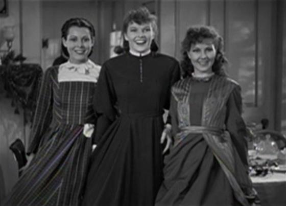 Frances Dee, Katharine Hepburn, Jean Parker