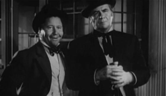 Jack Oakie and George Bancroft