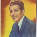 Danny Kaye 1951 Artisti de Cinema Trading Card