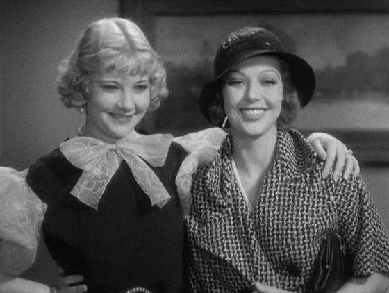 Una Merkel and Loretta Young