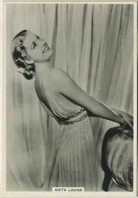 Anita Louise 1930s BAT Modern Beauties Tobacco Card