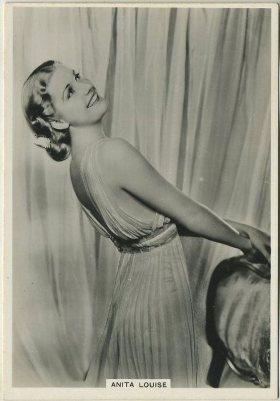 Anita Louise 1930s BAT Modern Beauties Tobacco Card