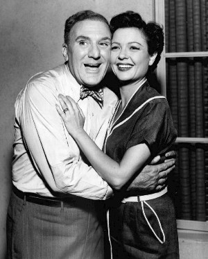 William Bendix and Marjorie Reynolds 1956