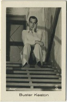 Buster Keaton 1930s Ramses German Tobacco Card