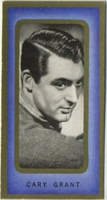 Cary Grant 1938 Carreras Film Favourites Tobacco Card