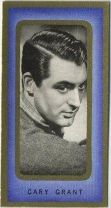Cary Grant 1938 Carreras Film Favourites Tobacco Card
